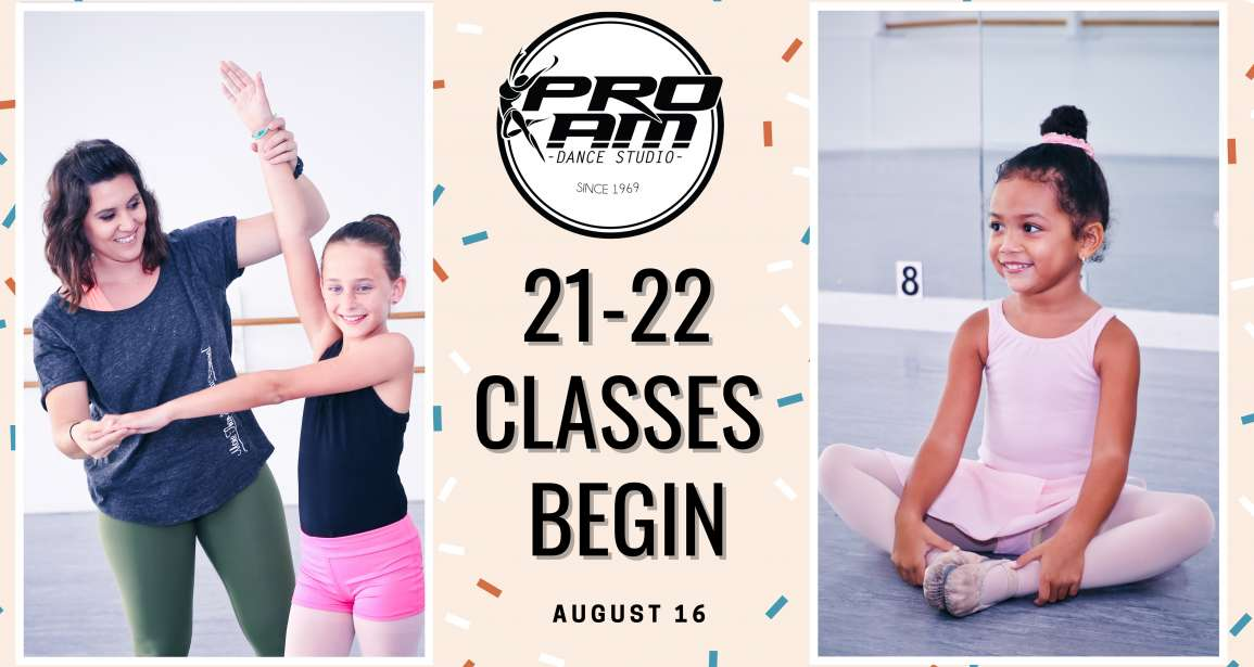 21-22 Classes Begin!